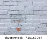 white old bricks wall | Shutterstock . vector #716163064