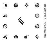 set of 13 editable mechanic...
