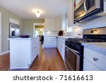 gorgeous kitchen in an old... | Shutterstock . vector #71616613