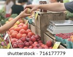 local market  | Shutterstock . vector #716177779