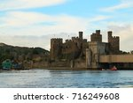conwy castle  wales  taken from ...