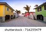 pathway to ft meyers beach...   Shutterstock . vector #716255479