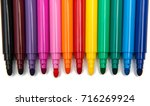 Colored Markers Isolated On...