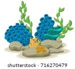 Marine Algae  Yellow Tube...