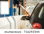 point of reception of payment... | Shutterstock . vector #716292544