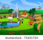 guest house | Shutterstock . vector #71631724