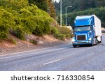 blue modern popular huge... | Shutterstock . vector #716330854