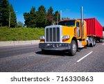 classic bonnet legendary...   Shutterstock . vector #716330863