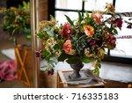 flower decoration | Shutterstock . vector #716335183