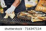 halloween cooking festival | Shutterstock . vector #716347114