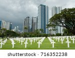 graves at the manila american... | Shutterstock . vector #716352238