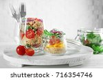 composition with quinoa and...