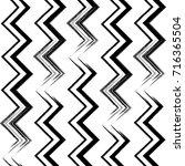 seamless irregular maze lines... | Shutterstock .eps vector #716365504
