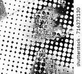 halftone dots pattern .... | Shutterstock .eps vector #716373130