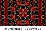 abstract design using steel... | Shutterstock . vector #716394526
