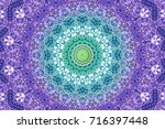 illustration of mosaic images ... | Shutterstock . vector #716397448