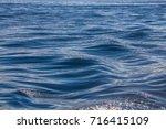 Ocean Water Surface Texture....