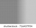 black white dotted halftone... | Shutterstock .eps vector #716437954