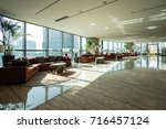 luxury lobby interior. | Shutterstock . vector #716457124
