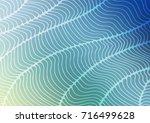 light blue  green vector...   Shutterstock .eps vector #716499628