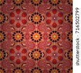 flat flower elements design.... | Shutterstock .eps vector #716502799