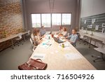 developing new app. team of...   Shutterstock . vector #716504926