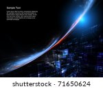dynamic interplay of motion... | Shutterstock . vector #71650624