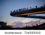 zaryadye park. the lot of... | Shutterstock . vector #716553310