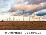 wattle point wind farm | Shutterstock . vector #716554123