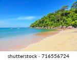 magnificent sandy beach in khao ... | Shutterstock . vector #716556724