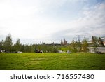 moscow   september 2017 ... | Shutterstock . vector #716557480