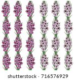 seamless pattern with flowers... | Shutterstock .eps vector #716576929