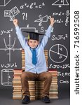 education mathematics concept.... | Shutterstock . vector #716592508