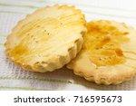 buko pan   sweet pastry bread... | Shutterstock . vector #716595673