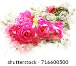 illustration of water colors...   Shutterstock . vector #716600500