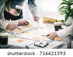 brainstorming brainstorm... | Shutterstock . vector #716621593