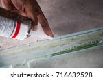 Small photo of Silicone adhesive for general and industrial applications