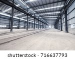 Empty Steel Structure Workshop  ...