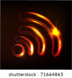 Wireless Sign  Vector