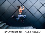 full of energy and enthusiasm... | Shutterstock . vector #716678680
