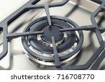 unusual gas burner. modern...   Shutterstock . vector #716708770