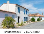 Small photo of Street of Ile-d'Aix, Charente Maritime, France