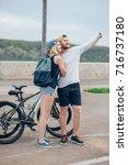 fitness  sport  people ... | Shutterstock . vector #716737180