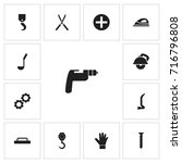 set of 13 editable instrument...