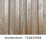 old wood wall rexture | Shutterstock . vector #716814508