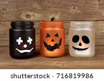 Mason Jar Halloween Candle...