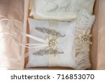 wedding accessories  wedding ... | Shutterstock . vector #716853070
