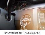 the car panel navigation | Shutterstock . vector #716882764