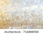 blue beige  silver white... | Shutterstock . vector #716888500
