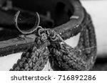 Small photo of Rowlock and rope
